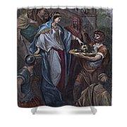 Dor�: Daughter Of Herod Shower Curtain