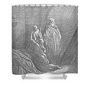 Dor�: Elijah & Widows Son Shower Curtain