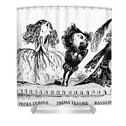 Dor�: Opera Performers Shower Curtain