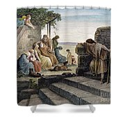 Dor�: Prodigal Son Shower Curtain