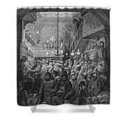 Dore: Billingsgate, 1872 Shower Curtain