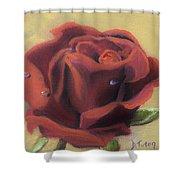Doris's Rose Shower Curtain