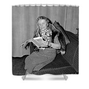 Dorothy Canfield Fisher Shower Curtain