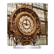 Dorsay Museum Paris France Shower Curtain
