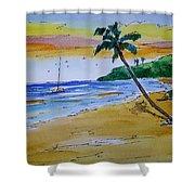 Dorsch Beach Shower Curtain
