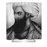 Dost Mohammad Khan Shower Curtain