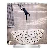 Dotted Shower Curtain