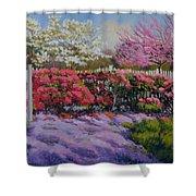 Dotti's Garden Spring Shower Curtain