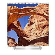 Double Arch Shower Curtain