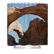 Double Arches Shower Curtain