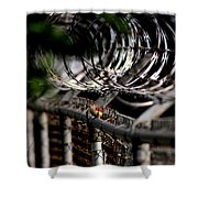 Double Protection Shower Curtain