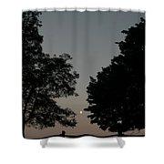 Doughton Park On The Blue Ridge Parkway Shower Curtain