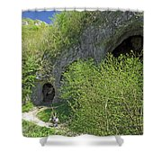 Dove Holes - Dovedale Shower Curtain