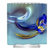 Dove Or Witch - Fight In Soul Of Woman Shower Curtain