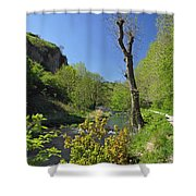 Dove Valley - Beside The River Shower Curtain