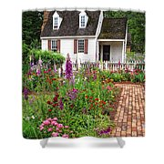 Down A Garden Path Shower Curtain