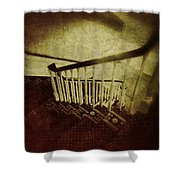 Down A Staircase Shower Curtain