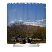 Down On The Farm Shower Curtain