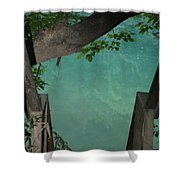 Down To The Creek Shower Curtain