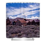 Downtown  Bodie Shower Curtain