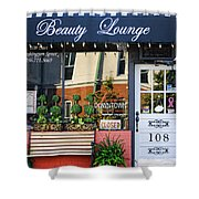 Downtown Beauty Lounge Shower Curtain