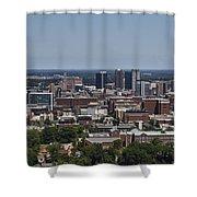 Downtown Birmingham Alabama Shower Curtain
