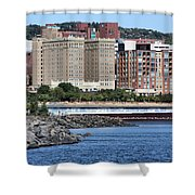 Downtown Duluth Shower Curtain