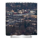 Downtown Grants Pass Sunday Morning Shower Curtain