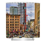 Downtown Hdr Shower Curtain