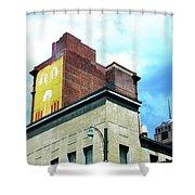 Downtown Memphis Shower Curtain