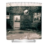Downtown Monroe Shower Curtain
