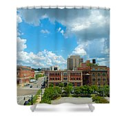 Downtown Montgomery Shower Curtain