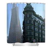 Downtown San Francisco 2 Shower Curtain