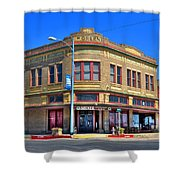 Downtown Shiner Texas Shower Curtain