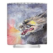 Dragon Of 2012  Shower Curtain