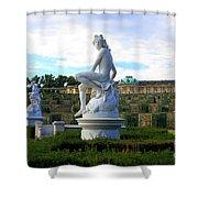 Dramatic Sanssouci Shower Curtain