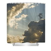 Dramatic Sunbeams And Storm Clouds Maine Photo Poster ...