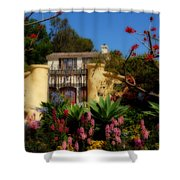 Dream Cottage In Malibu Shower Curtain