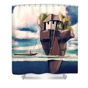 Dream Island Shower Curtain