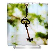 Dream Key Shower Curtain