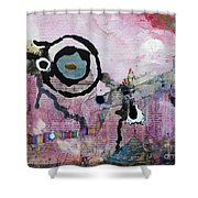 Dream Painting Shower Curtain