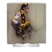 Pow Wow Dream Time Shower Curtain