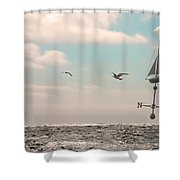 Dreamers Journey Shower Curtain
