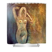 Dreaming Alone Shower Curtain