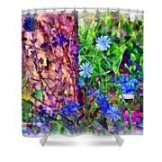 Dreaming Night And Day Shower Curtain