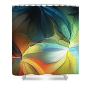 Dreaming Night Blooms 2 Shower Curtain