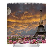Dreaming Of Paris Shower Curtain