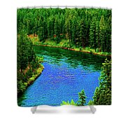 Dreamriver Shower Curtain