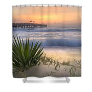 Dreams By The Sea Shower Curtain