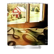 Dreams From The Window Seat Shower Curtain
